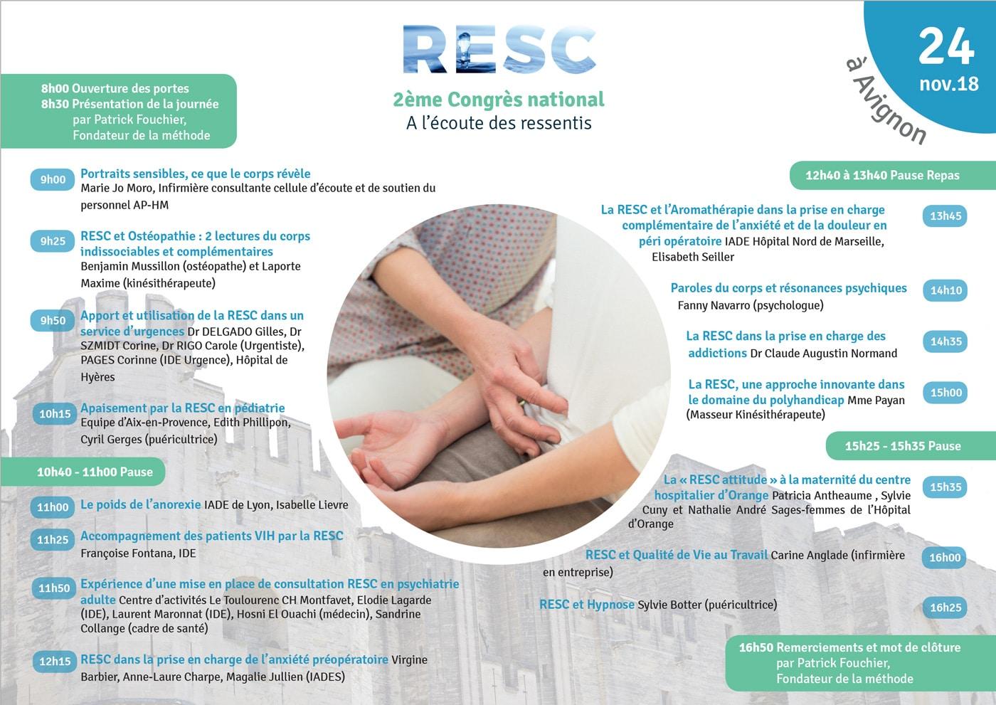 Programme Congrès Resc 2018